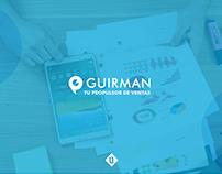 Guirman: Logo and Brand Identity Stylescape