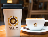 Branding Work for Venetti Café Gourmet