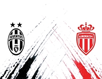 Juventus FC vs AS Monaco FC - UCL Quarter Final