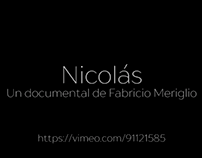 "Video Promo Documental ""Nicolas"""