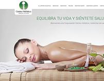 Diseño web Centro Holistico