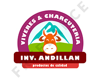 Propuestas de Logo / Tienda de viveres y charcuteria
