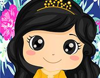 Cute Princess Girl