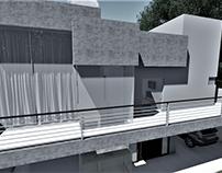 Cicero house ( paisagismo, acesso e revestimento)