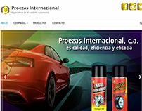 Sitio Web www.proezasinternacional.com/