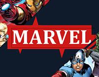 Trabalho do Curso Saga- Revista Marvel