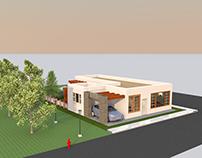 A dreamed house/ Una casa soñada