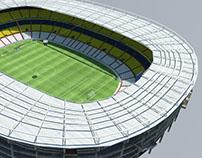 Estadio Jalisco 3D