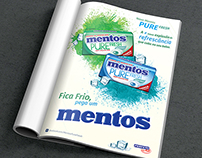 Mentos Magazine AD Pilot