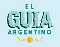 El guía argentino - Logo y folleto