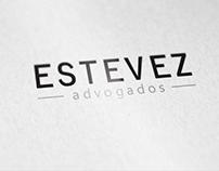 Redesign da marca Estevez Advogados e aplicações