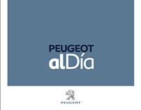 Revista Publicación Quincenal Peugeot al Dia