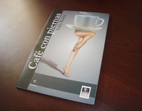 Cafe con piernas Book Cover