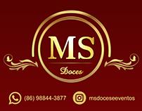 Logo e cartão de visita - MS Doces