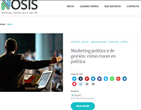 Nosis Marketing y Gestión