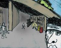 Ilustração: série A Cidade (Chico Science&Nação Zumbi)