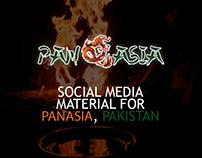 Pan Asia social media designs.