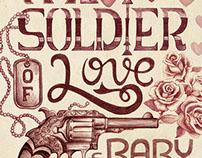HandLettering - Soldier of love(projeto estamparolando)
