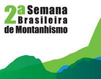 2ª Semana Brasileira de Montanhismo - Identidade Visual