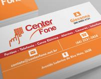 Logotipo e cartão de visitas para Center Fone