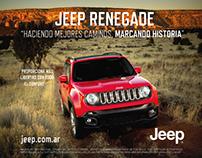 Jeep Renegade - Aviso publicitario