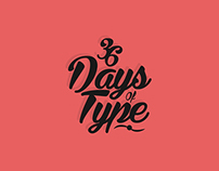 Proyecto Tipográfico, 36 Days of Type.