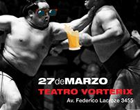 Poster Publicitario - Sumo - Teatro Vorterix