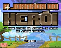 Infográfico interativo - A Jornada do Herói