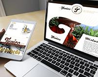 Landing Page - Café Tunico