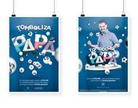 Afiche - Tomboliza a papá