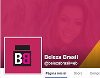 Beleza Brasil - Banners e Página Facebook
