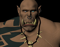 ORC Humanoid for a game.
