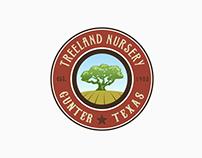 Treeland Nursery - logo design