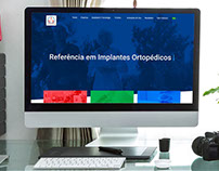 Website Ortobio Implantes Ortopédicos