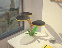 Guayacán - Solar desk Lamp