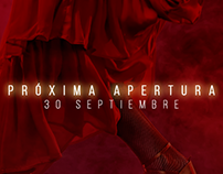 Campaña teaser para la Sala Flamenco