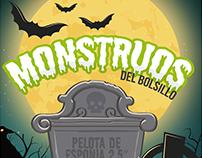"""Monstruos del Bolsillo, Pelotas de esponja 2.5"""""""