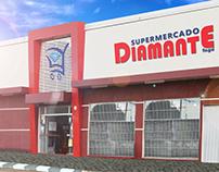 Tratamento de imagem - Supermercado Diamante