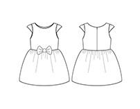 Desenhos técnicos Infantil Feminino