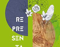 Cartaz - Exposição Representações