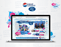 Pepsi Mundo + Latin American Idol // 2008