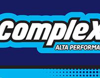 """""""Complex"""" (Diseño de logo y etiqueta)"""
