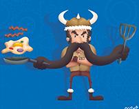 Viking, Egg and Bacon!