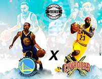 Flyer Final Nba #SocialMidia #Flyer #Design