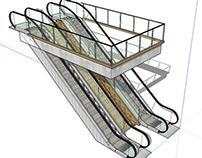 Escada Rolante do Aeroporto Santos Dumont