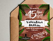 Party Invitation / Invitación para Fiesta de Cumpleaños