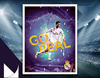 Poster Real Madrid - Concept