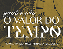 Social Media - O Valor do Tempo. Ivan Maia