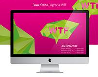 Apresentação PowerPoint | Agência WTF