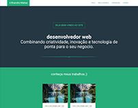 Evandro Matias - Desevolvedor Web